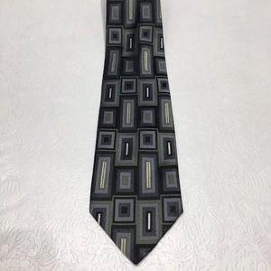 Pierre Cardin Blue & Green Tie